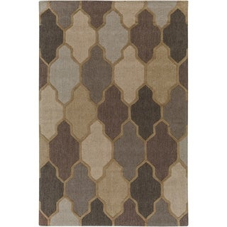 Hand-Tufted Ryde Moroccan Trellis Wool Rug - 8' x 11'