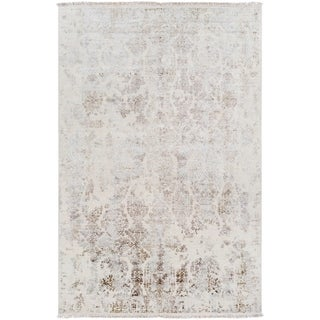 Hand-Knotted Evelynne Wool Area Rug - 9' x 13'