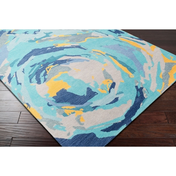 Hand-Tufted Dynamic Wool Area Rug - 8' x 10'