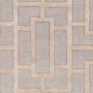 "Hand-tufted Thaxted Geometric Wool Rug - 7'6"" x 9'6"""