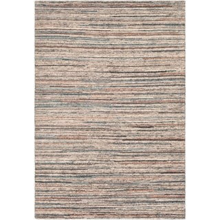 Hand-Knotted Enjith Wool Accent Rug - 9' x 13'
