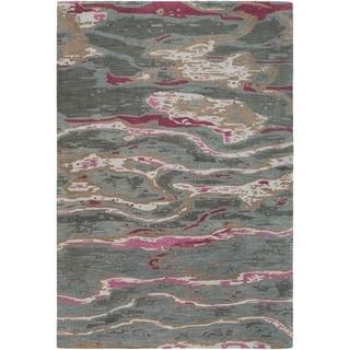 Hand-Tufted Lidia Wool Area Rug - 8' x 11'