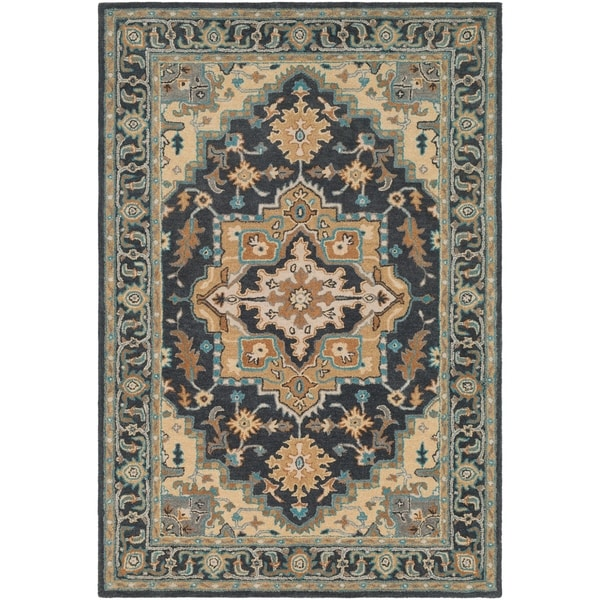 Shop Valida Traditional Medallion Wool Area Rug 8 X 10