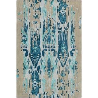 Hand-Tufted Lidia Wool Area Rug - 9' x 13'