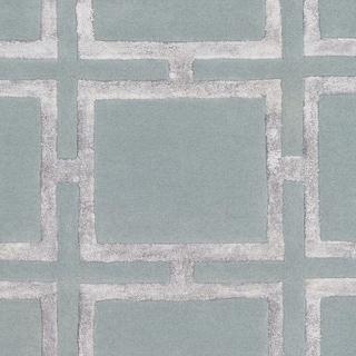 Naiara Sage Modern Wool & Viscose Area Rug - 8' x 10'