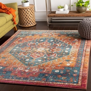 Helai Traditional Area Rug - 9' x 13'1""