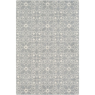 Hand-Hooked Caselli Wool Area Rug - 4' x 6'