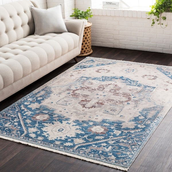 """Vintage Persian Traditional Area Rug - 3'11"""" x 5'3"""""""