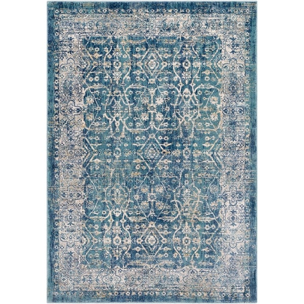 Millie Distressed Traditional Accent Rug - 2' x 3'