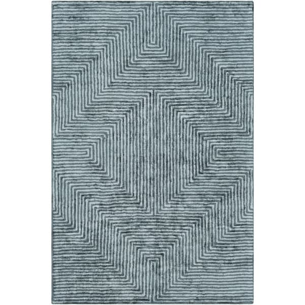 Hand-Tufted Emeline Viscose Accent Rug - 2' x 3'
