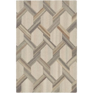 Hand-Tufted Alessande Wool Accent Rug - 2' x 3'