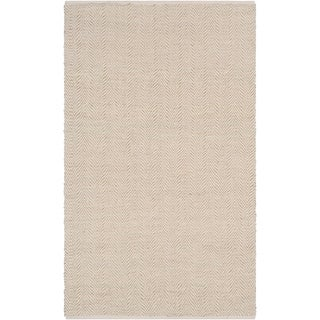 Hand-Woven Kaneen PET Yarn Indoor/ Outdoor Accent Rug - 2' x 3'