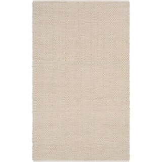 Hand-Woven Kaneen PET Yarn Accent Rug - 2' x 3'