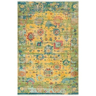 Ennoki Hand-knotted Wool Accent Rug - 2' x 3'