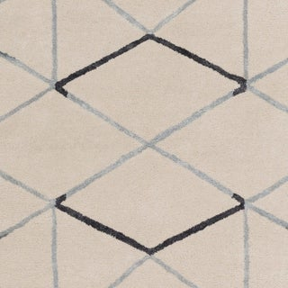 Hand-Tufted Peregrine Wool Accent Rug - 2' x 3'