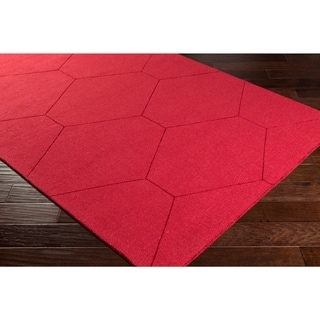 Handmade Hironia Wool Accent Rug - 2' x 3'