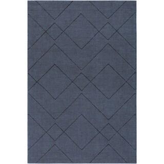 Handmade Cecan Wool Accent Rug - 2' x 3'