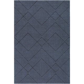 Handmade Cecan Wool Accent Rug - 2' x 3'