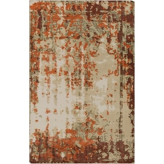 Hand-Knotted Tajo Wool Accent Rug - 2' x 3'