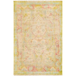 Hand-Knotted Marlowes Wool Accent Rug - 2' x 3'