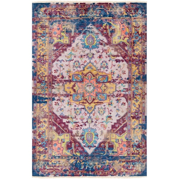 Hand-Knotted Ordnance Wool Accent Rug - 2' x 3'