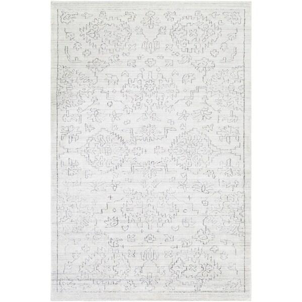 Handmade Valorie Bamboo Silk Accent Rug - 2' x 3'