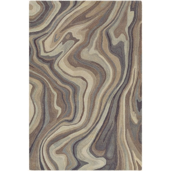 Hand-Tufted Stinette Wool Accent Rug - 2' x 3'