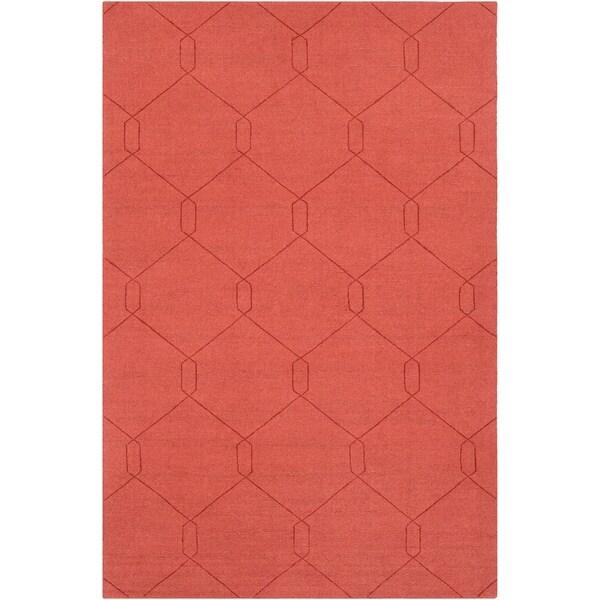 Handmade Dynallae Wool Accent Rug - 2' x 3'