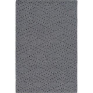 Handmade Berollius Wool Accent Rug - 2' x 3'
