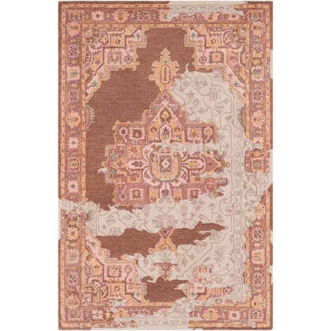 Marlow Handmade Wool Vintage Accent Rug - 2' x 3'