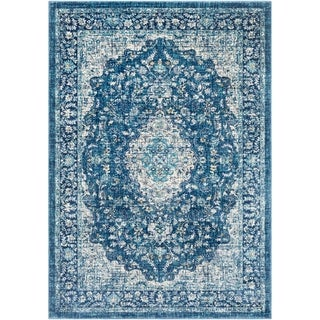 Bonnhan Traditional Oriental Accent Rug - 2' x 3'