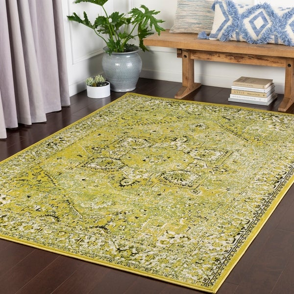 Nélida Lime Traditional Accent Rug - 2' x 3'