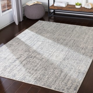 Vincente Grey Modern Accent Rug - 2' x 3'