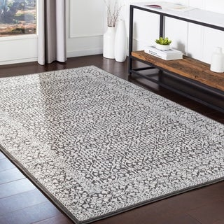 Katenka Charcoal Traditional Accent Rug - 2' x 3'