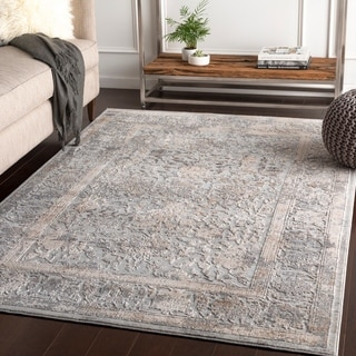 Margarethe Grey Traditional Accent Rug - 2' x 3'