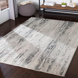 Magdalena Medium Grey Modern Accent Rug - 2' x 3'