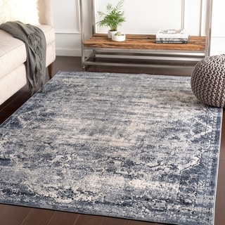 Romilda Grey Vintage Traditional Accent Rug - 2' x 3'