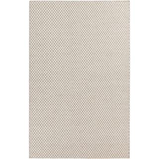 Hand-woven Larford Wool Area Rug - 6' x 9'