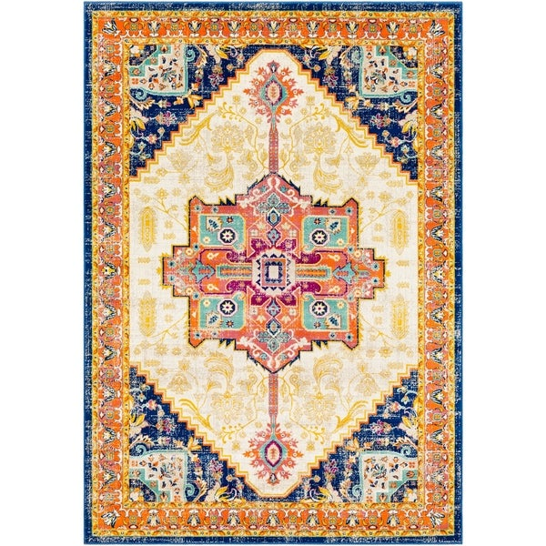 "Kolton Updated Traditional Area Rug - 5'2"" x 7'6"""