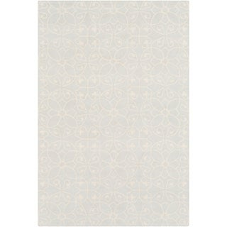 Hand-Hooked Caselli Wool Area Rug - 6' x 9'