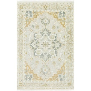 Hand-Knotted Eliksir Wool Area Rug - 6' x 9'