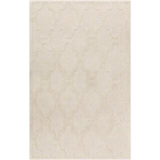 Hand-Tufted Bateson Casual Wool Area Rug - 6' x 9'