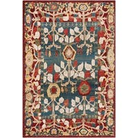 "Sylvia Vintage Tree of Life Area Rug - 5'1"" x 7'4"""
