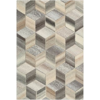 Beleile Wool Hand-tufted Accent Rug - 2' x 3'