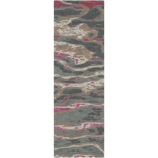 "Hand-Tufted Lidia Wool Runner - 2'6"" x 8' Runner"