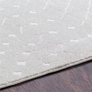 """Laurelle Taupe Moroccan Area Rug - 3'11"""" x 5'7"""""""