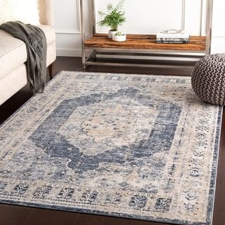 "Jouko Taupe Traditional Area Rug - 5'3"" x 7'3"""