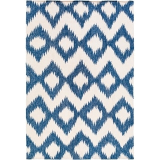 Hand Woven Cleveland Wool Area Rug - 6' x 9'