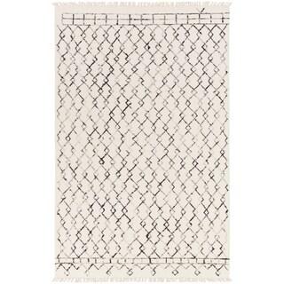 Hand-Woven Maywood Wool Area Rug - 6' x 9'