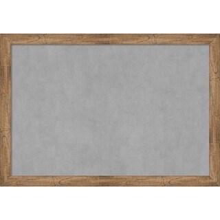 Framed Magnetic Board, Owl Brown Narrow